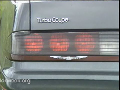 MotorWeek | Retro Review: '87 T Bird TurboCoupe and '87 Mustang
