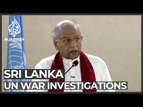 Sri Lanka withdraws from UN war investigation pact