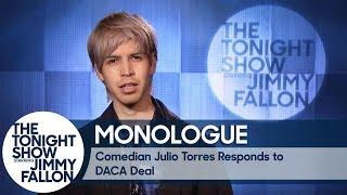 Comedian Julio Torres Responds to DACA Deal