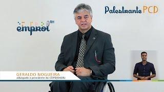 Palestrante PCD - Geraldo Nogueira