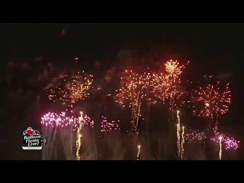Balloon Fiesta Live! Night Magic Glow Oct 12 pm