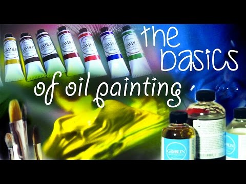 oil painting basics and techniques by lena danya