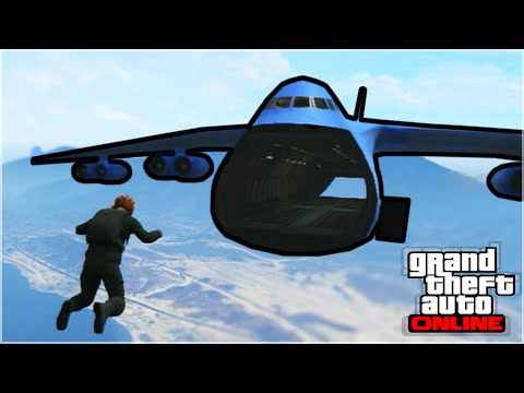 GTA V Skydiving Stunts, Brought To A New Level
