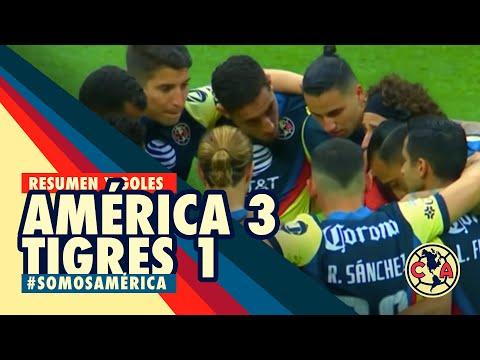 Resumen y goles | América 3 – 1 Tigres | GUARD1ANES 2020