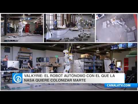Con un robot la NASA pretende colonizar Marte
