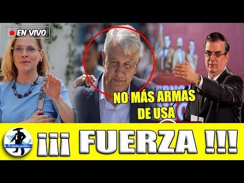 Marcelo Refuerza Amlo:Pedirá Reunión Con Vicepresidente D USA ¡No Más Arm*s Gringas Ni La DEA!