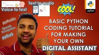 Python Text to Speech Tutorial - soumilshah1995