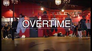 Overtime Chris Brown - Alexander Chung Choreography