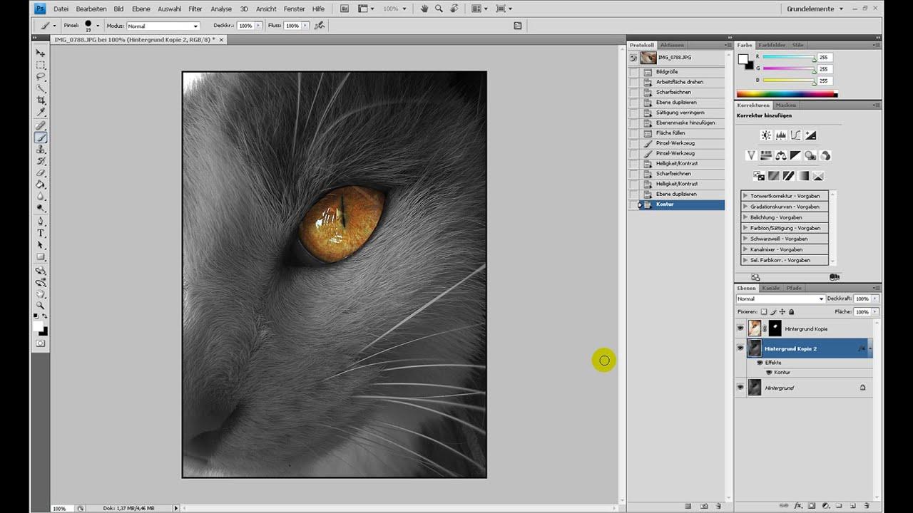 Colorkey – Photoshop-Tutorial