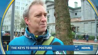 Portland Today - Posture Expert Shares Simple, Effective Advice