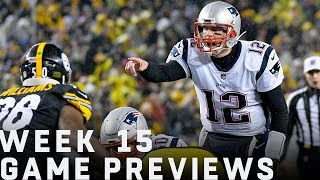 NFL Week 15 FULL Preview Show | Move the Sticks | NFL