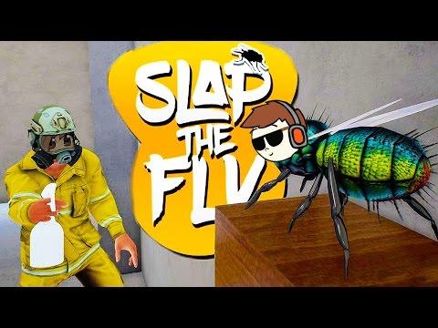 PROBANDO JUEGOS: SLAP THE FLY! SOMOS MOSCAS!