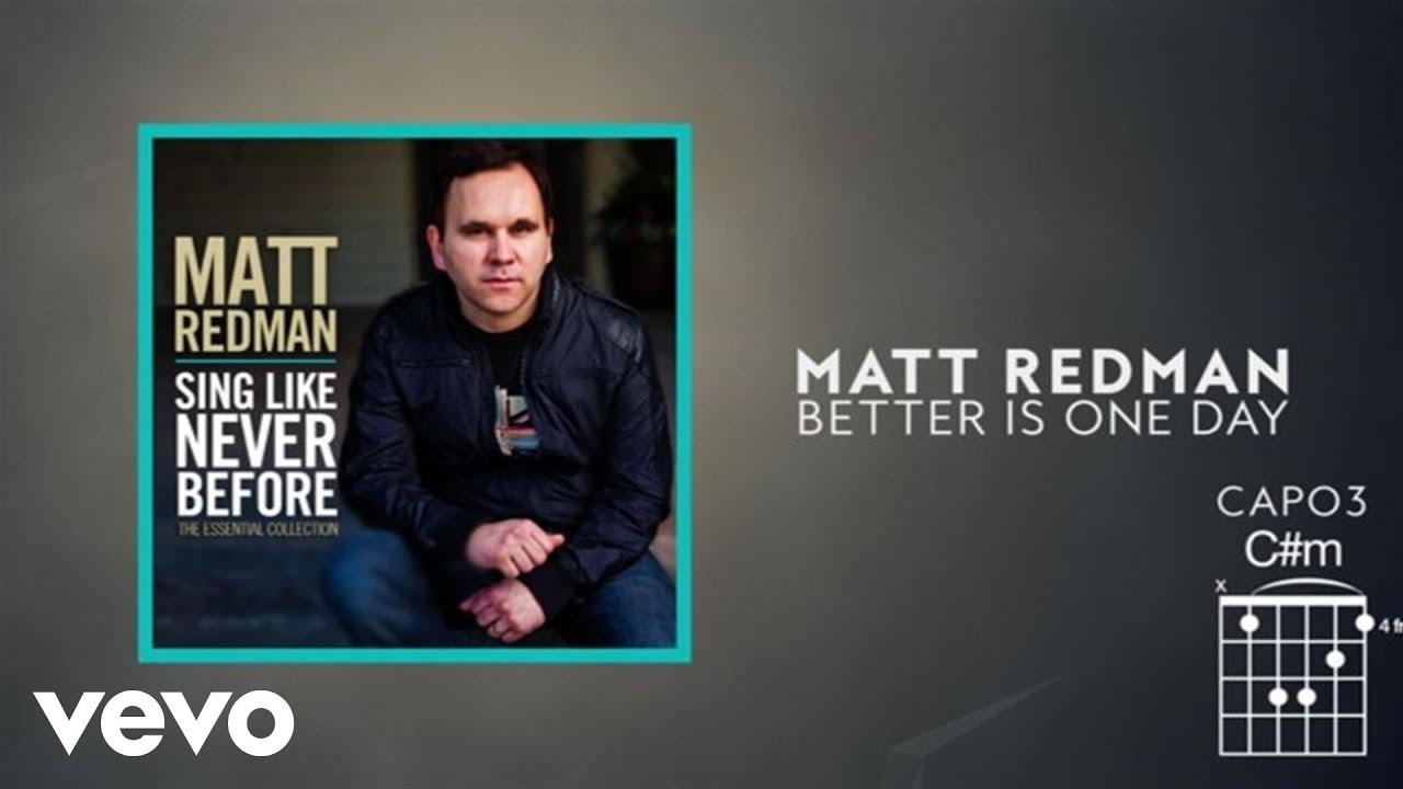 Better Is One Day Lyrics Matt Redman