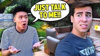 Ignoring My Best Friend For 24 Hours.. - Challenge