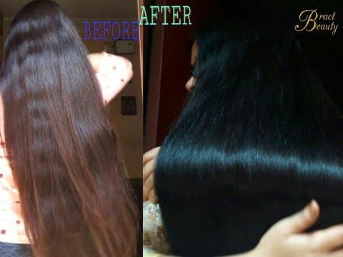 2 Step Henna Indigo Process| Dye Hair Black Naturally With Henna+Indigo