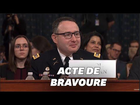 Témoin dans la destitution de Trump, ce militaire a été applaudi pour sa réponse