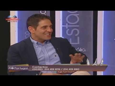 Reportagem no programa 'Alô Portugal' da SIC Internacional sobre a Feira do Cavalo de Ponte de Lima.