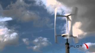 preview picture of video 'Giżycko Plot Electronics Wiatrak Przydomowy Ekologiczny'