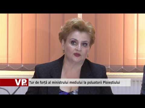 Tur de forță al ministrului mediului la poluatorii Ploieștiului