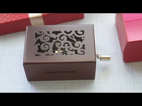 Music box from Banggood.com