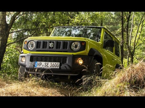 2019 Suzuki Jimny All Grip - Off-road Driving
