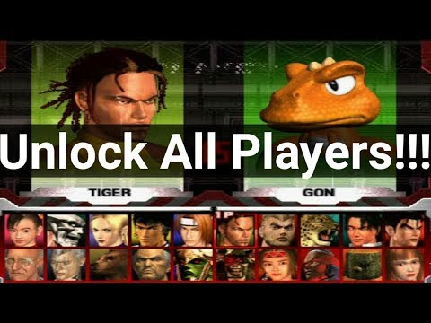 Download How To Unlock All Players In Tekken 3 Video 3GP Mp4 FLV HD