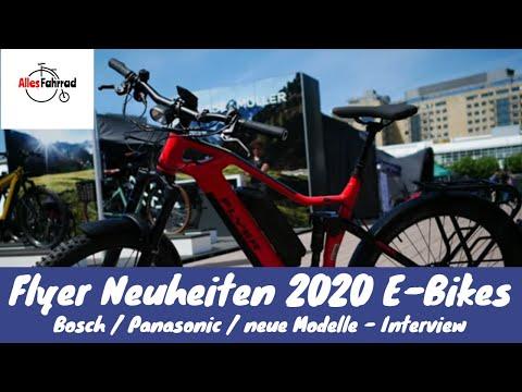 Flyer E Bikes Neuheiten 2020 vorgestellt - Interview | Alles Fahrrad