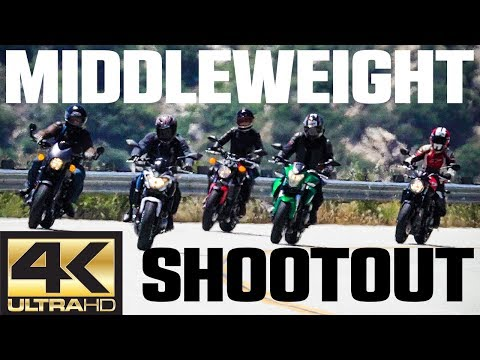 2017 Middleweight Naked Bike Shootout | 4K