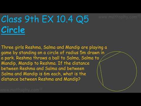 Happyclass - Circles, Mathematics, CLASS 9 - NCERT CBSE