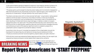 "BREAKING: Report Urges Americans To ""START PREPPING!"""