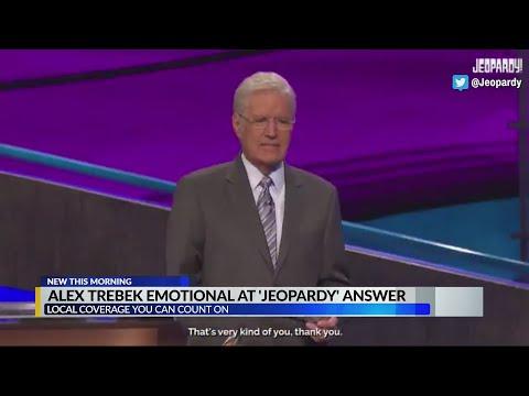 Alex Trebek has touching moment on 'Jeopardy!'