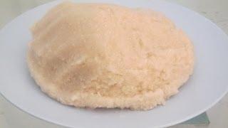 How to make gari (Eba) – African Food recipe