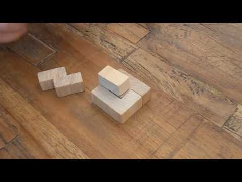 Holzpuzzle oplossing