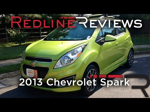 2013 Chevrolet Spark Review, Walkaround, Exhaust, & Test Drive