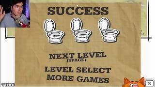 IR AL BAÑO NO ES TAN SIMPLE! | Toilet Success - JuegaGerman - dooclip.me
