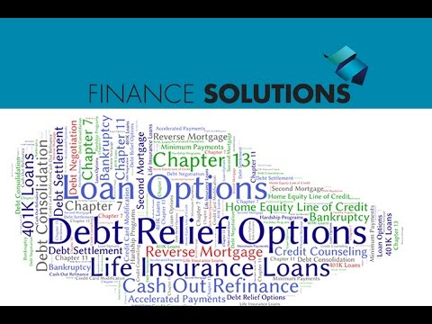 , title : 'Finance Solutions - Selecting the Best Option for Debt Relief