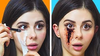 DIY TV and SFX MOVIE MAKEUP that actually work !