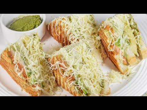 #Sandwich #Breakfast #Cheeseitems  MONSTER CHEESE SANDWICH || Bombay's Famous Street Food