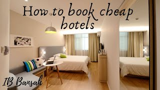 Easy and Simple ways to Book Cheap hotels on Booking.com