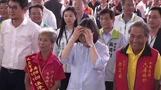 2019 07 29蔡英文總統蒞臨六房媽新厝寮紅壇參拜