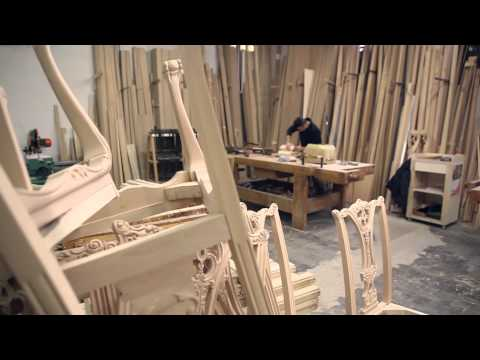 Manufacturing of luxury classic furniture