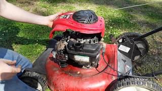 Craftsman Push Mower Carburetor Clean