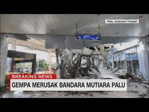 Gempa Merusak Bandara Mutiara Palu