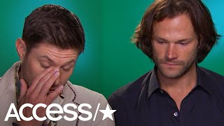 Supernaturals Jared Padalecki & Jensen Ackles Get Emotional Over Fans & Finale