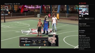 OMG NBA 2K17 FYM TRYOUTS MYPARK LIVESTREAM 2K SUBSCRIBERS GRIND.