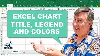 Learn Excel - Chart Title, Legend, Colors: Podcast #1408