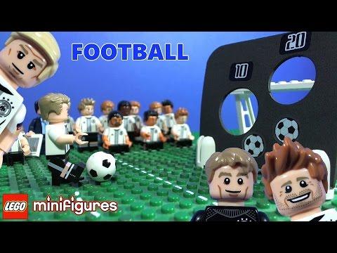 Vidéo LEGO Minifigures 71014 : L'équipe de football d'Allemagne - La Mannschaft