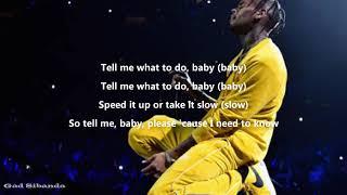 Chris Brown-Tell me what to do(Lyrics)