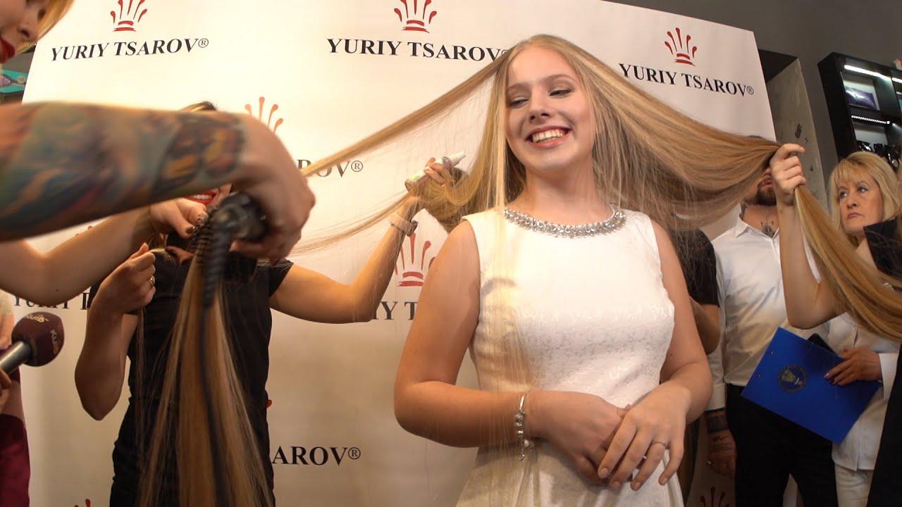 15-летняя киевлянка претендует на мировой рекорд по длине волос