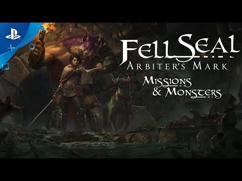 Fell Seal: Arbiter's Mark - Missions and Monsters DLC - Launch Trailer | PS4